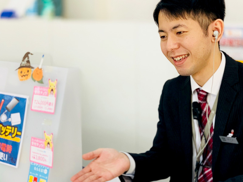 佐々木 (SoftBank春日井神領 副店長)